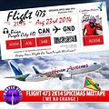 FLIGHT 473 PURPLE CITY HD 2K14 SPICE MAS MIXTAPE ( We Nah Change )