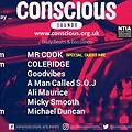 CONSCIOUS SOUNDS DJ GUEST MIX OCT 2016 MIXED BY MR COOK