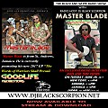 Master Blade - Radio Interview on The Black and White Radio Show 6-6-17