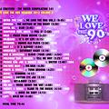 TWC 142 (2012) WE LOVE THE 90s MEGAMIX vol.2 by DJ Crayfish MIX 088