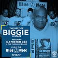 MISTER CEE THE BEST OF BIGGIE MIXTAPE LIVE FEATURING THE PURSUANCE BAND @ THE BLUE NOTE NYC 11/10/17
