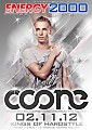 Energy 2000 (Przytkowice) - Kings Of Hardstyle pres. COONE (02.11.2012) up by PRAWY - seciki.pl