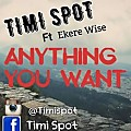 TIMI SPOT, EKERE WISE-ANYTHING YOU WANT