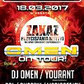 YOURANT @ ARENA KOKOCKO - OMEN ON TOUR 18.03.2017 - seciki.pl