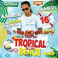 Dj Travis(juice xplosion )live Beach party at kourou_Aytek rec