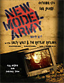 (2009.10.04) New Model Army - Live @ DNA Lounge, San Francisco