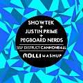Showtek & Justin Prime vs. Pegboard Nerds - Self Destruct Cannonball (DJ RoLLi Mashup)