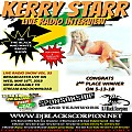 Kerry Starr - Radio Interview on The Black and White Radio Show Vol. 93 (5-16-18)