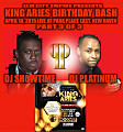 Part 3 of 3 DJ PLATINUM and DJ SHOWTIME LIVE at King Aries Bash at PPE (4-18-2015)
