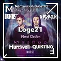 Hardwell & Quintino Vs Loge 21 Vs Teamworx & Sunstars - Woest Vs Next Order Vs Playin' Around ( DAMRS Vs DJ RAHMOUN Mashup )