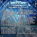Glynn Alan Live @ Trance Sanctuary 7th Birthday @ Egg, London UK 10-03-2018