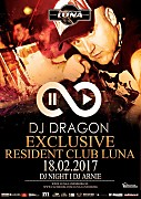 Klub Luna (Lunenburg, NL) - DJ DRAGON pres. EXCLUSIVE RESIDENT (18.02.2017)