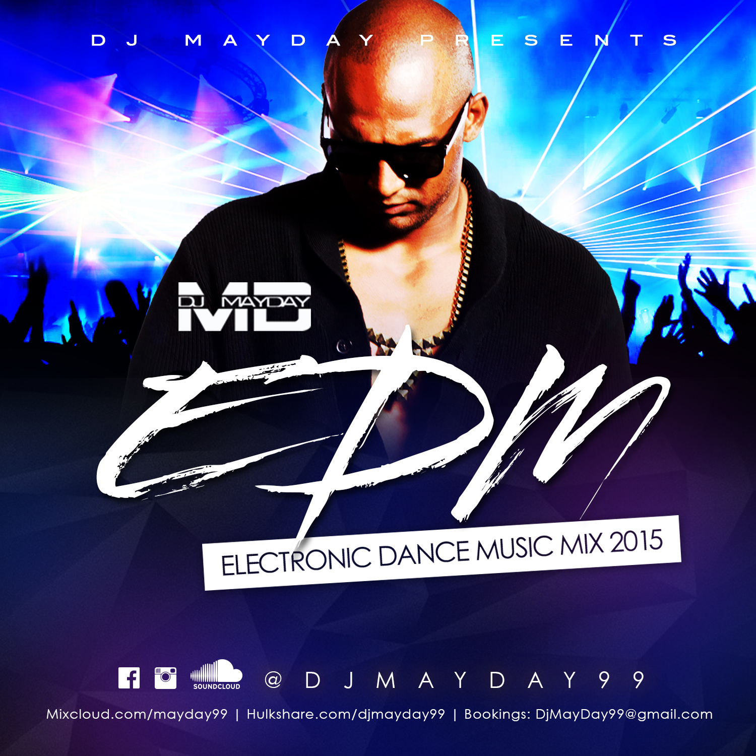 DJ MayDay Presents Electronic Dance Music Mix 2015 By